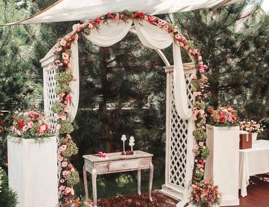 decoracion boda americana