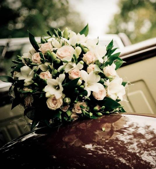 decoracion de coches para bodas