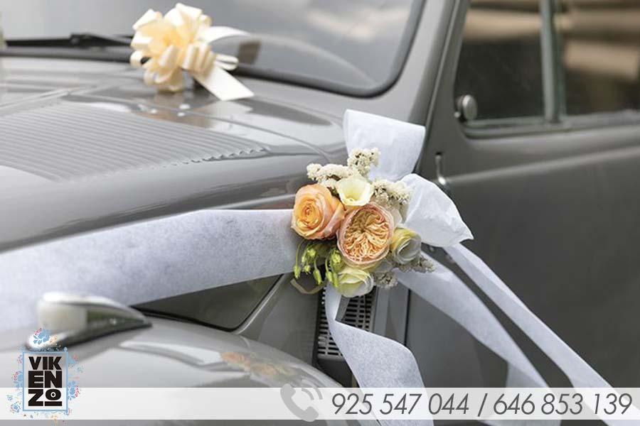 ejemplos decoracion coche boda