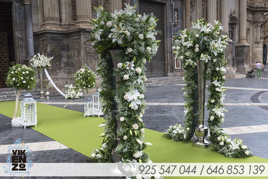 ejemplos decoracion iglesias para boda