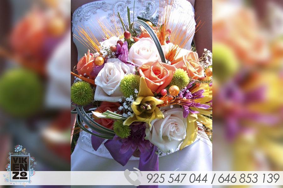 ejemplos de ramos de novias