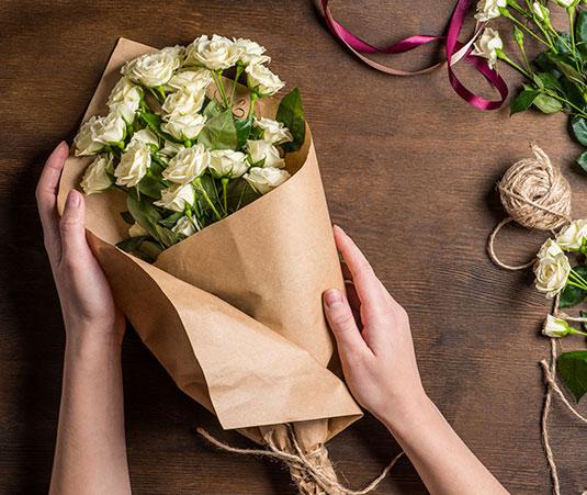 Ramo de flores san valentin