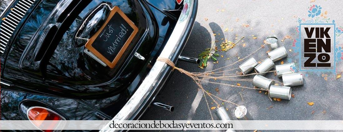 Ideas Para Decorar Tu Coche De Boda Arreglos Florales Vikenzo