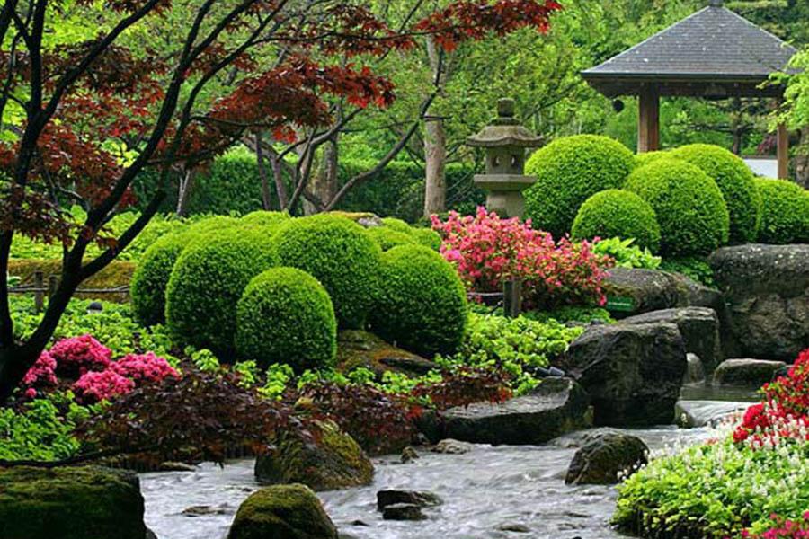 jardines zen madrid